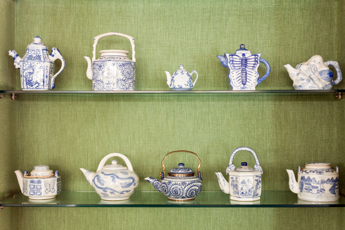 The teapots collection